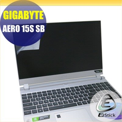 【Ezstick】GIGABYTE Aero 15S SB 靜電式筆電LCD液晶螢幕貼 (可選鏡面或霧面)