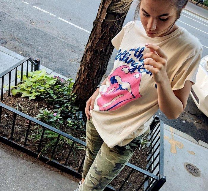 【代購】 新品 MADEWORN Rolling Stone 滾石仿舊 短袖T恤