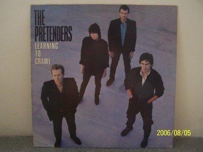 【原版流行LP】1414-1.Pretenders:Learning to crawl專輯(曲目詳照片)