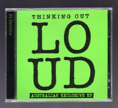 Ed Sheeran - Thinking Out Loud 澳洲限定 EP Sing Don't