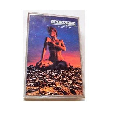 西洋錄音帶:SCORPIONS蠍子[DEADLY STING致命的快感搖滾名曲選]1995年台灣科藝百代卡帶+回卡+歌詞