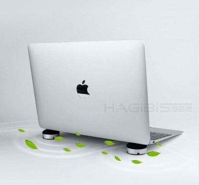 海備思筆電支架腳墊散熱器電腦散熱底座蘋果macbook墊高架子墊子mac支架托YTL·