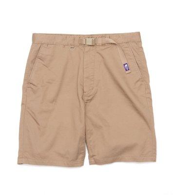 THE NORTH FACE PURPLE LABEL Stretch Twill Shorts TNF 紫標 短褲