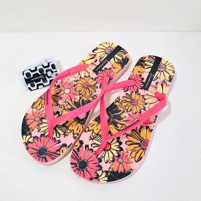 《現貨》Ipanema 女生夾腳拖鞋 巴西尺寸33/34,35(吉賽兒 向陽花朵人字夾腳平底拖鞋)