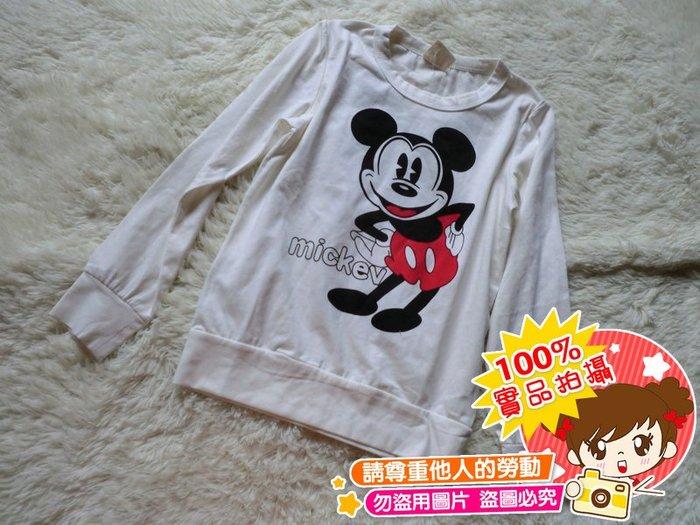 ❤厤庭童裝舖❤最後一件【E493】雙面米奇圖案上衣/T恤(9號)