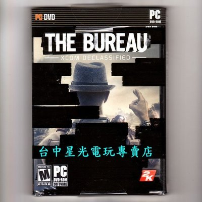 ~PC 遊戲片~~ The Bureau 當局解密 XCOM ~英文美版 品~台中星光電玩~
