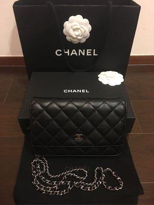 香奈兒 Chanel woc 荔枝銀(售出)