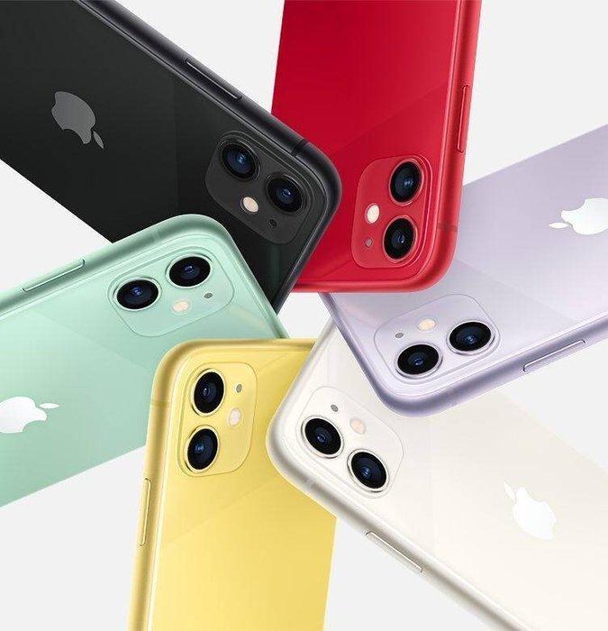 《亞屴電訊》iPhone X11 64G B 6.1吋 1200萬相機 黃 綠 紫 白 黑 紅 現貨23900元