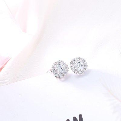 s925純銀耳釘女氣質韓國個性抖音同款耳環耳釘百搭迷你耳骨釘