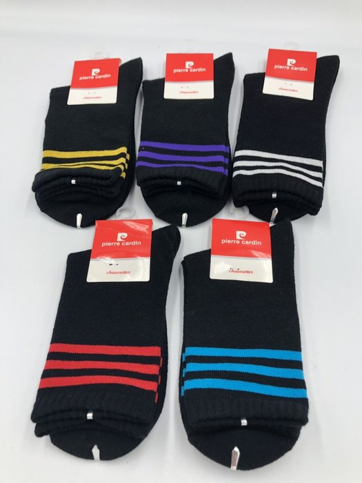 皮爾卡登 足球風運動襪 足球襪 運動襪 台灣製 大人款 $35/雙