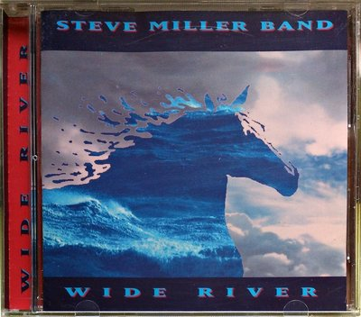 Steve Miller Band - Wide River 首發盤 無IFPI 二手歐版