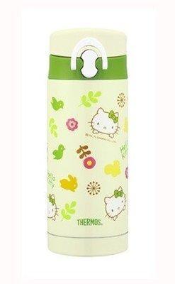 膳魔師THERMOS 不銹鋼保溫杯JNF-350KT-GR Hello Kitty 綠意盎然篇-新上市 超取 面交
