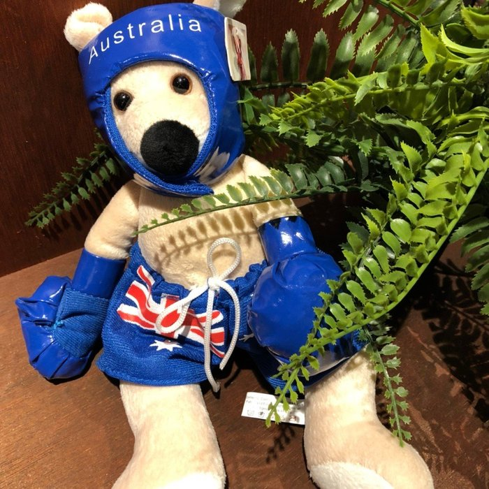 澳洲袋鼠娃娃-(拳擊版)澳洲製造
