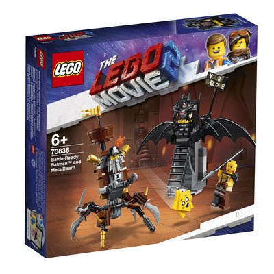 【周周GO】 樂高 LEGO  70836   LEGO Movie   Battle-Ready Batman and MetalBeard