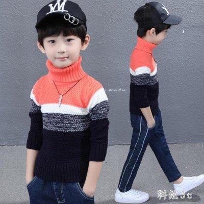 童裝男童毛衣 中大尺碼新款兒童中大童韓版休閒套頭秋冬款毛線衣針織衫 js14790