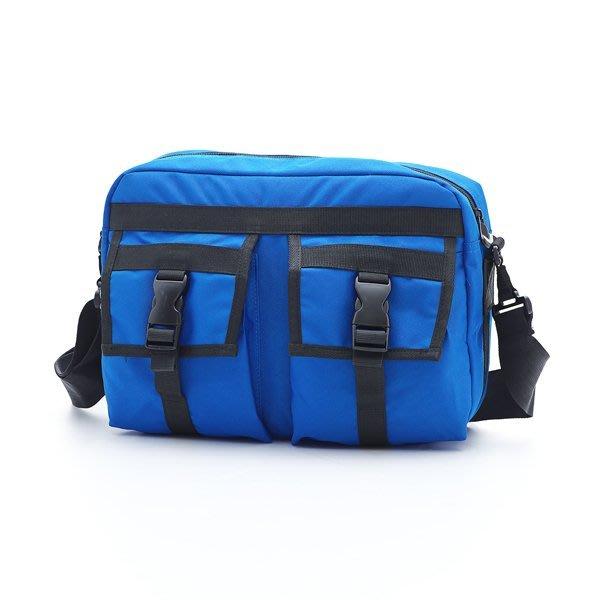 ◎包包的家◎旅行達人指定著用新品價1090元【PORTMAN】類單眼相機側背包(藍色) PM142407