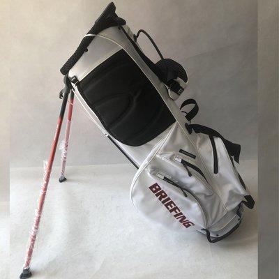 @喵喵小屋golf正品 專柜BRIEFING BRG 白色支架包 高爾夫球包 高爾夫支架包