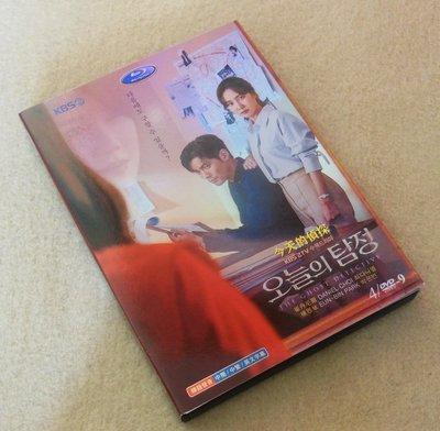買二送一 全新盒裝! 今天的偵探(2018) 4枚組 高清版 崔丹尼爾/樸恩斌/李智雅/金元海 DVD