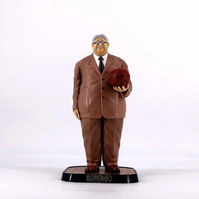 【紫色風鈴3】灌籃高手 GK 安西教練 場景模型盒裝 港版