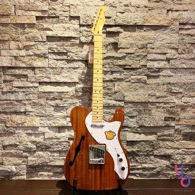 現貨免運 贈千元配件 Fender Squier Classic Vibe Tele Thinline 半空心 電 吉他