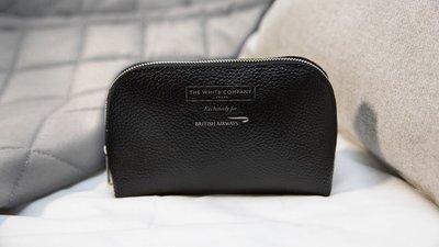 不含內容物 The White Company For 英國航空 頭等艙 盥洗包 旅行整理收納包 化妝包(TBH21)