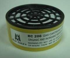 @安全防護@ 藍鷹牌 RC-206 防毒口罩無機酸性濾毒罐 (適用NP-305及NP-306口罩) RC-206