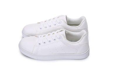 富發牌。女鞋。8024H 雪花飛舞純白休閒鞋 白色休閒鞋  (白) (23-25.5號) ~nanakids娜娜童櫥