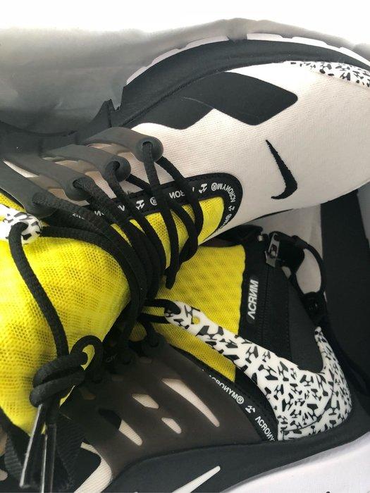 現貨 US10 US9 Nike x Acronym Presto mid 台灣公司貨