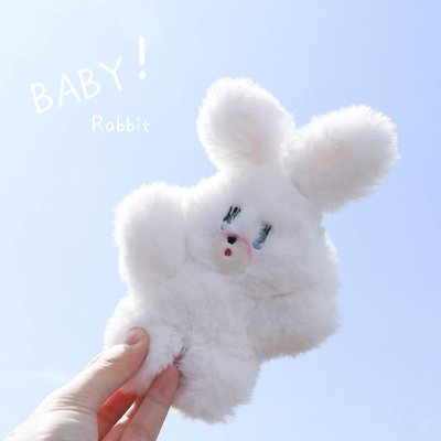 日本霓虹少女心foxy腮紅小兔軟妹學生毛絨玩偶ins背包掛件鑰匙扣