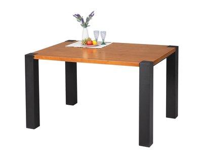 美式複古鐵藝餐桌loft木餐桌會議桌辦公桌長桌