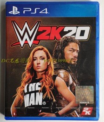 DC光感遊戲 PS4正版游戲盤 WWE 2K20 美國職業摔角聯盟20 摔跤 港版英文 現貨