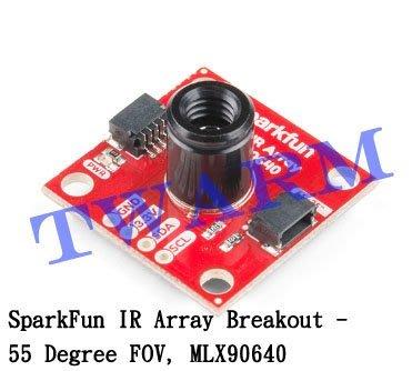 德源r)(現貨)原廠 Qwiic IR Array 模組 55 度FOV MLX90640 熱像儀(SEN-14844)