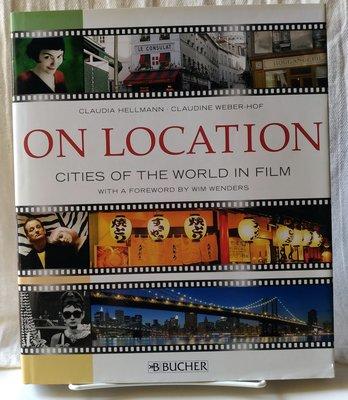 ON LOCATION-cities of the world in film世界電影名場所/旅遊書/哈利波特