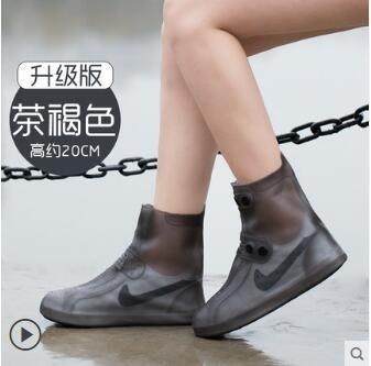 防雨鞋套 男女韓國可愛鞋套防水雨天防滑加厚耐磨成人下雨防雨雪鞋套【 全店免運】 現貨