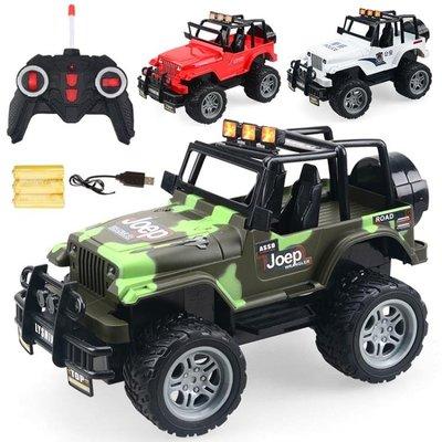 兒童玩具車充電遙控車越野敞篷車模型玩具男孩電動遙控車玩具