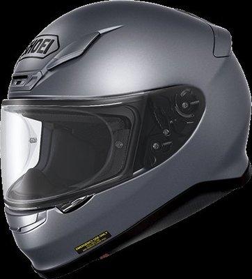 《鼎鴻》SHOEI全罩式素色安全帽 Z7  消光鐵灰色
