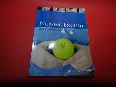 【愛悅二手書坊 18-53】Nursing English   (劃記/摺痕嚴重)