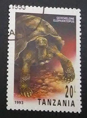 坦尚尼亞   龜類郵票