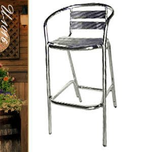 【推薦+】扶手吧台椅P020-U-1016休閒椅子.造型椅.高腳椅.酒吧椅.咖啡椅.戶外椅.餐廳椅傢俱