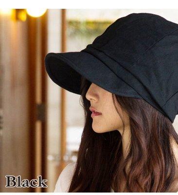 日本小顏防曬帽遮陽帽100%遮蓋紫外線...