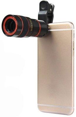 【用心的店】Mobile Phone Telescope 8倍手機拍照望遠鏡長焦距外置攝像頭眼鏡