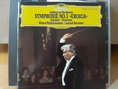 "Bernstein,Wiener Phi,Beethoven-Sym No.3""Eroica"",柏恩斯坦指揮維也納愛樂,貝多芬-第3號""英雄""交響曲,艾格蒙序曲"