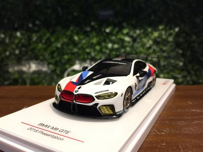 1/43 TSM BMW M8 GTE 2018 Presentation TSM430429【MGM】