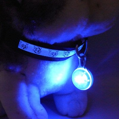 寵物Led燈 發光吊墜(2入)-外出溜狗安全警示寵物用品(顏色隨機)73pp566[獨家進口][米蘭精品]