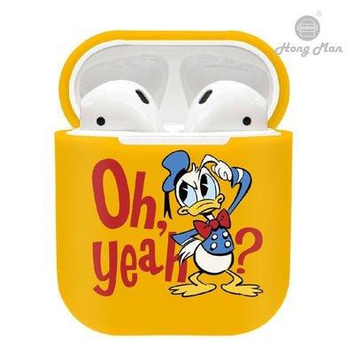 正版授權 Disney 迪士尼 AirPods / AirPods2 硬式保護套 - 唐老鴨 Donald Duck