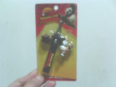 全新功夫熊貓的手機吊飾