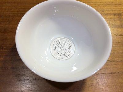 【名其茶曰 千芳一窟】茶濾 德化白瓷 茶葉茶漏 純陶瓷濾茶器