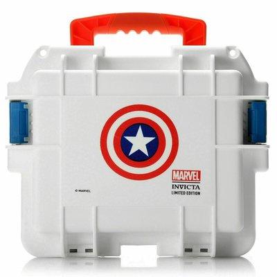 《大男人》Invicta MARVEL專用漫威美國隊長3顆裝潛水錶盒(全新)