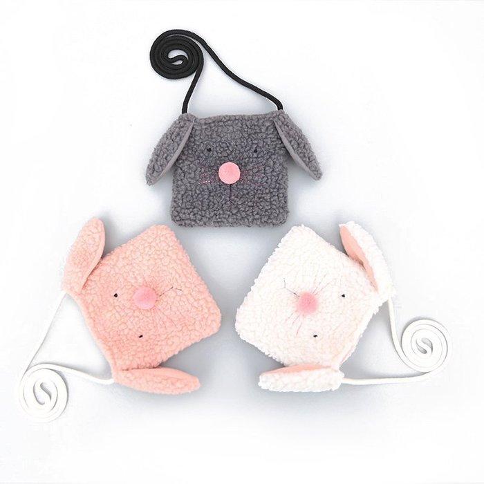 ☆草莓花園☆BB09 韓版女童包包 兒童掛包 嬰兒斜挎包  超萌小狗單肩