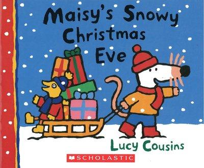 *小貝比的家*MAISY'S SNOWY CHRISTMAS EVE/硬頁 /3~6歲